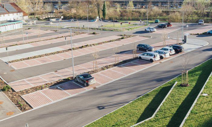 Parkplatz Stadthalle Lohr Fotocredit Skyscreamarts